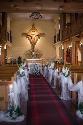 Dekoracja kościoła -Elbląg